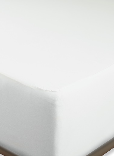 Penelope Penelope Pamuk Penye Sıvı Geçirmez Yatak Alezi 100x200+40 cm Beyaz